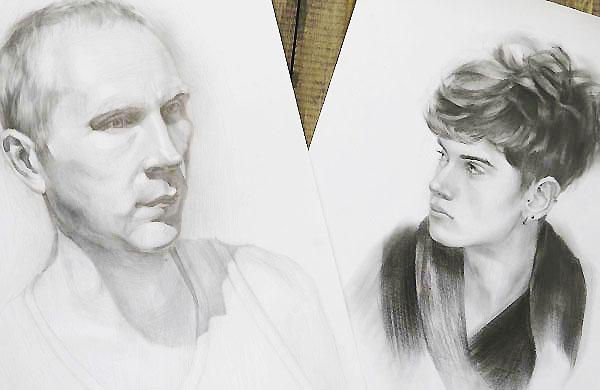 Курсы рисования карандашом: от гипсовой сферы до портрета в Москве
