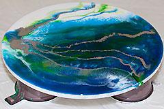Мастер-класс по заливке эпоксидной смолой — Art-studio «PaLe'tt»