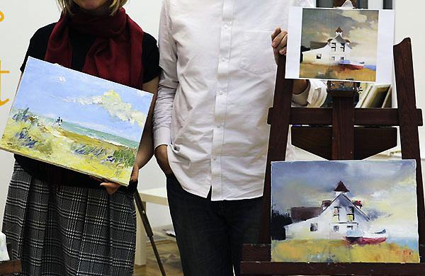 Уроки масляной живописи для начинающих